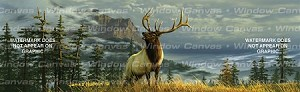 Windowscape - Bugling Elk