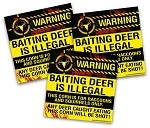 NO BAITING decals (3-pack)